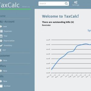 TaxCalc by kwilium